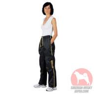 犬 トレーニングズボン 犬訓練士用ナイロン製服